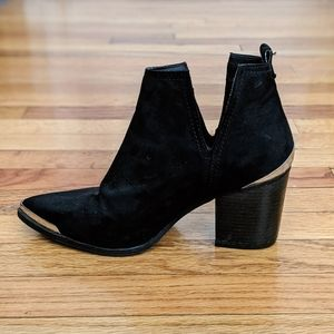 Mossimo Cowboy Style Ankle Boots